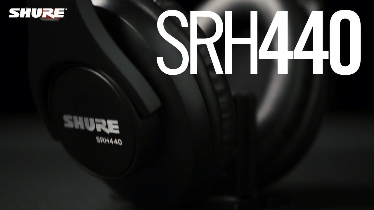 Shure SRH440 Professioneller Kopfhörer