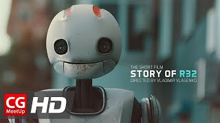 "CGI VFX Short Film HD: ""Story of R32"" by Vladimir Vlasenko"