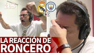 REAL MADRID 1- M. CITY 2   Reacción de Roncero: el grito con ISCO, la pesadilla con DE BRUYNE   AS