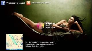 Roald Velden - Hope (LTN Remix)