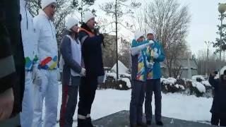 В Карагандинской области зажгли огонь универсиады