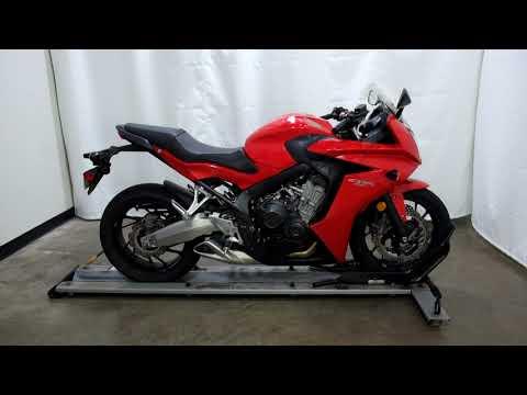 2014 Honda CBR®650F in Eden Prairie, Minnesota - Video 1