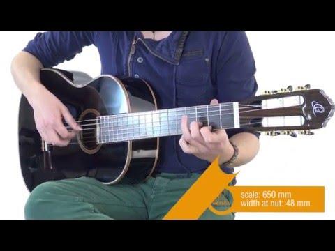 ORTEGA R221SNBK Klasická kytara