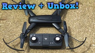 SNAPTAIN SP500 Foldable Drone ( Review + Unbox!)