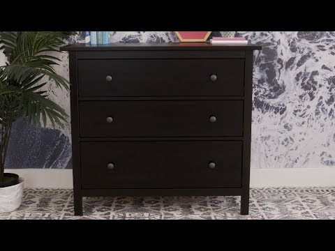 How To Build The IKEA Hemnes Dresser | House Beautiful