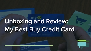 My Best Buy Credit Card Review and Unboxing - Credit Card Insider