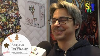 Spieleredakteur Viktor Kobilke im Interview - Frosted Games - Spielwarenmesse19 - Nürnberg