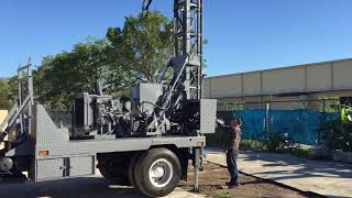 Mobile B40L Drill with Perkins 4236 Engine (6 Hours) Mounted on Mack MS 300 (305) 594-4674