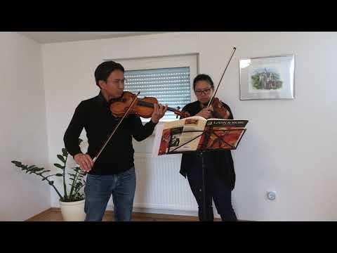 Das musikalische Pfirsich-Mousse