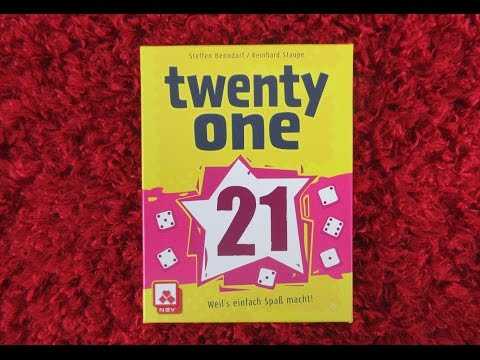 Twenty One (a small footprint game) with Nettersplays