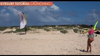 #2 Kiteboarding Intermediate – Launch tutorial