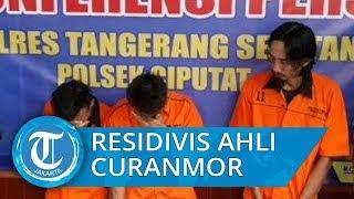 Polsek Ciputat Ringkus Cemong, Residivis Curanmor di Tangerang Selatan