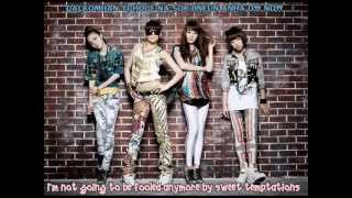 2NE1 - Love is Ouch (with English Sub)