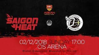 ABL9 || Home Game 3: Saigon Heat vs FMS Dreamer 02/12 | Full Game Replay