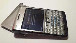 Nokia E61i smart phone Made in Finland ретро телефон обзор