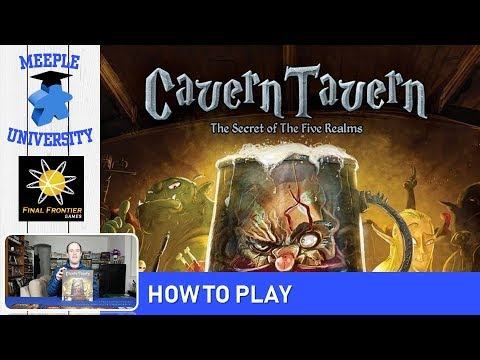 Cavern Tavern Board Game – How to Play & Setup in 23 Minutes
