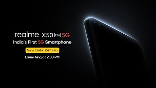 realme X50 Pro | India's First 5G Smartphone | Launch Event