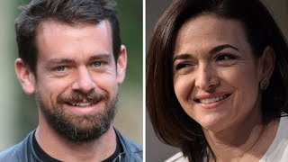 Twitter CEO Jack Dorsey and Facebook COO Sheryl Sandberg testify on Capitol Hill