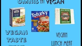 Vegan Taste Test - Lunch Meat