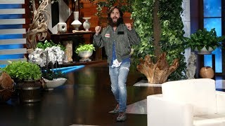 <b>Jared Leto</b> Talks Acting With The Very Intense Harrison Ford