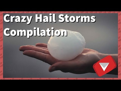 Worst Hail Storm Video Compilation [2018] (TOP 10 VIDEOS)