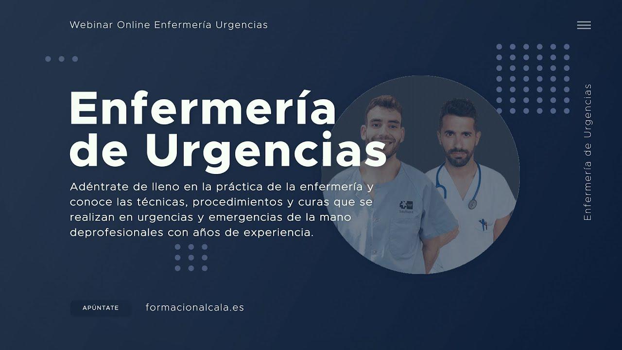 Video de presentación Webinar La enfermería de urgencias en primera persona