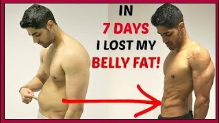How To Lose Belly Fat For TEENAGERS At Home In 1 Week Full 2017