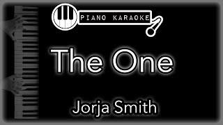 The One   Jorja Smith   Piano Karaoke