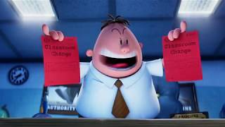 CAPTAIN UNDERPANTS Movie Clips