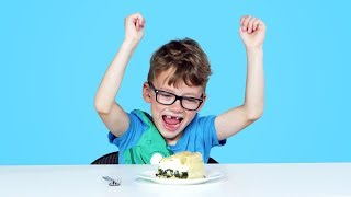 Kids Try Pies from Around the World | Kids Try | HiHo Kids