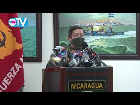 Continúa la búsqueda de los cinco marineros de la Fuerza Naval de Nicaragua
