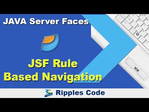 Jsf tutorial: 4. Define page navigation rules.