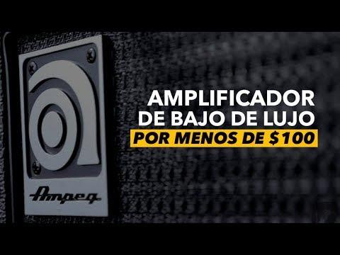 Amplificador de Bajo de Lujo por menos de $100 [Ampeq BA-108]