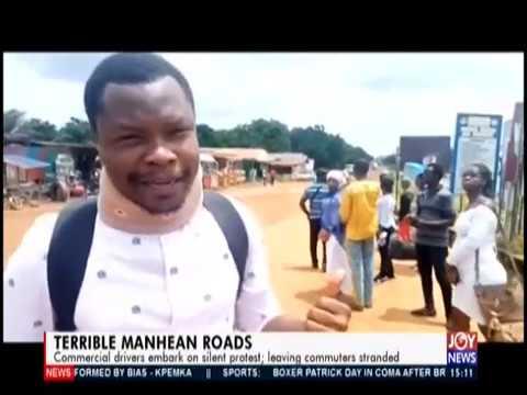 Terrible Manhean Roads - The Pulse on JoyNews (14-10-19)