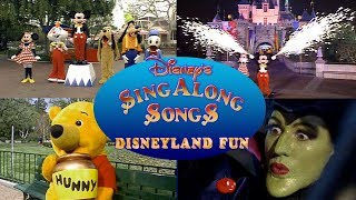 Disney Sing Along Songs Disneyland Fun In HD!