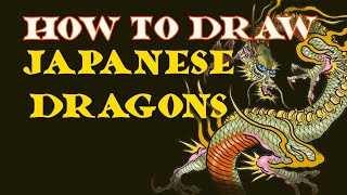 How To Draw Japanese Dragon Tattoo
