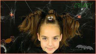 Halloween Bat Hairstyle / Best Halloween Hairstyles / Bonita Hair Do