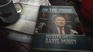 Rockets GM Daryl Morey Talks Carmelo, LeBron as GOAT & More w/Dan Patrick | Full Interview | 8/15/18