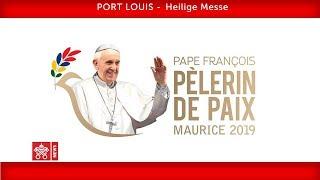 Papst Franziskus-Port Louis-Heilige Messe 2019-09-09