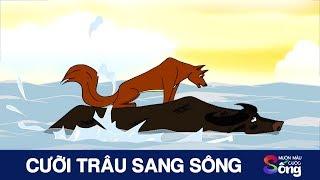 CƯỠI TRÂU SANG SÔNG - Phim hoạt hình hay - Câu chuyện cuộc sống - Bài học ý nghĩa - Khoảnh khắc