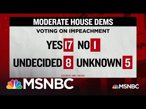 One Democratic Congressman Says He Will Not Vote For Impeachment | MSNBC