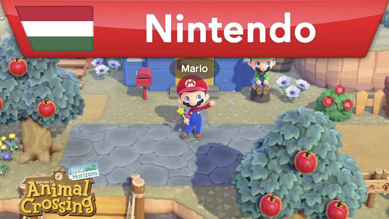 Animal Crossing: New Horizons - Mario update   Nintendo Switch