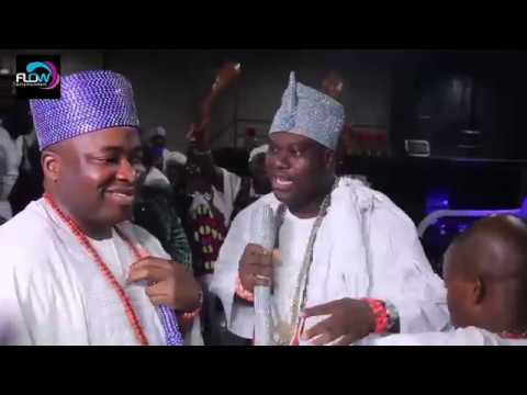 SEE HOW OONI OF IFE AND OBA ELEGUSHI STORMS MOREMI OF EGBA LAND EASTER FIESTA