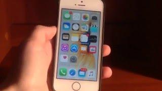 iOS 9.3 iPhone 5s Обзор iOS 9 3 на iPhone 5s