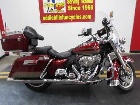 2009 Harley-Davidson Road King® in Wichita Falls, Texas - Video 1