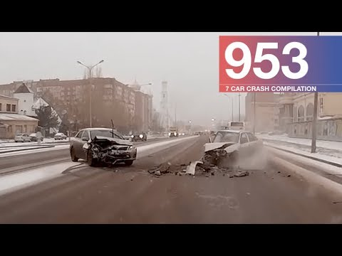 Car Crash Compilation 953 - February 2018