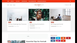 How To Setup Plate Blogger Template - Way2themes