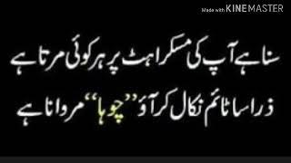 Funny Poetry & Quotes in Urdu 8
