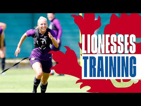 Lionesses are READY for USA! | England v USA | Inside Training | Lionesses