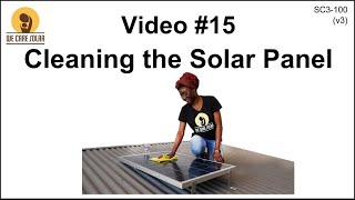 15  v3 Solar Suitcase – Cleaning the Solar Panel